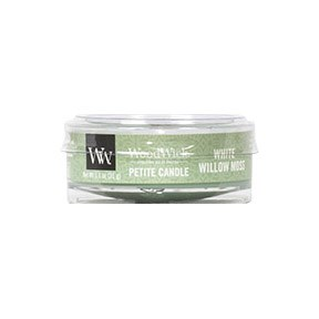 Woodwick Petite Candle - White Willow Moss