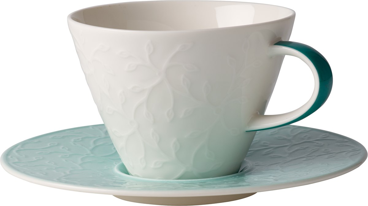 Villeroy Boch - Caffe Club Floral Touch of Ivy - Filiżanka do Białej Kawy