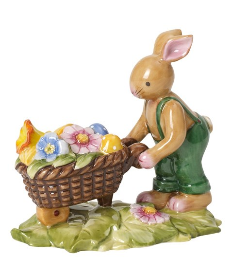 Villeroy&Boch Bunny Family Bunny With Wheelbarrow