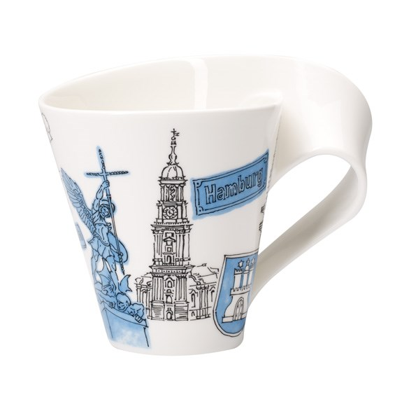 Villeroy&Boch Cities of the World Kubek 0,3L Hamburg