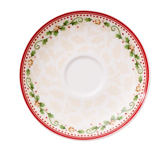 Villeroy&Boch Winter Bakery Delight Spodek do Filiżanki Kawowej 14cm, Starnew