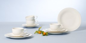 Villeroy&Boch New Cottage Basic Zestaw do kawy Coffee Set 12el.