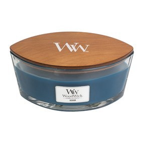 Woodwick Hearthwick Flame - Denim