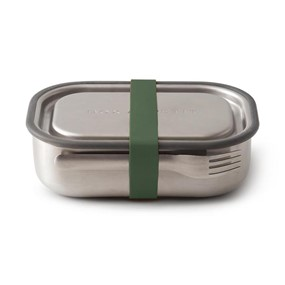 Black+Blum Lunch box 3w1 oliwkowy Box Appetit