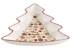Villeroy&Boch Winter Bakery Delight Duża Misa Choinka 26,5cm.
