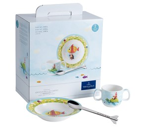 Villeroy&Boch Chewy Around The World Zestaw Dla Malucha 4 el.