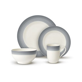 Villeroy&Boch Colourful Life Cosy Grey Zestaw For Me & You