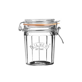 KILNER Słoik 0,45l, Facetted Clip Top Jar