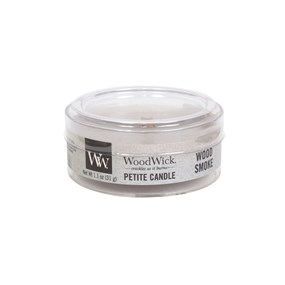 Woodwick Petite Candle - Wood smoke