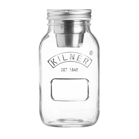 KILNER  Słoik 1l, Food on the Go