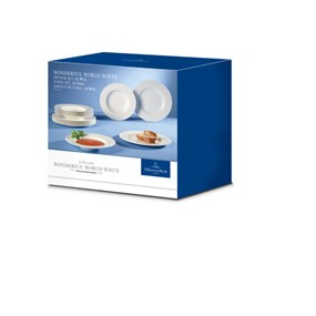 Villeroy&Boch Wonderful World White Obiadowy Set 12el.