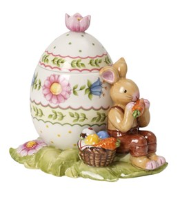 Villeroy&Boch Bunny Family Egg Box Bunny Snacking