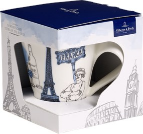 Villeroy Boch - Cities of The World - Kubek 0,3L France