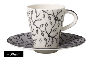 Villeroy&Boch Caffe Club Floral Steam Filiżanka do Espresso ze Spodkiem 2el.