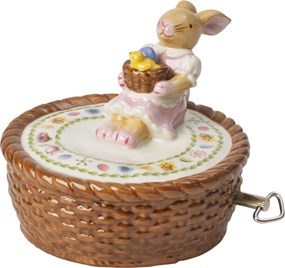 Villeroy&Boch Bunny Family Music Box Basket
