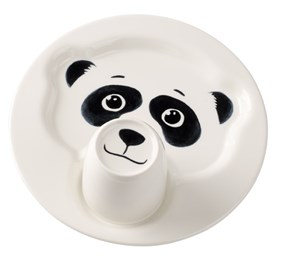 Villeroy&Boch Animal Friends Talerz z Kubkiem Panda