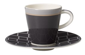 Villeroy&Boch Caffe Club Uni Steam Filiżanka do Espresso ze Spodkiem 2el.
