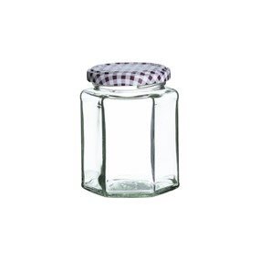 KILNER - Słoik heksagonalny 280 ml., Twist Top Jars