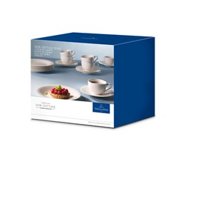 Villeroy&Boch New Cottage Basic zestaw kawowy Coffee Set 18el.