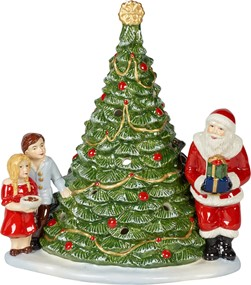 Villeroy&Boch Christmas Toys Choinka z Mikołajem Santa On Tree