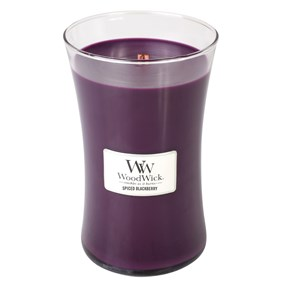 Woodwick Świeca Duża-Spiced Blackberry