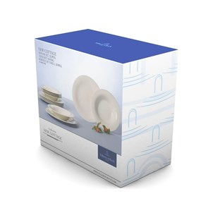 Villeroy&Boch New Cottage Basic Zestaw Obiadowy Set 12el.